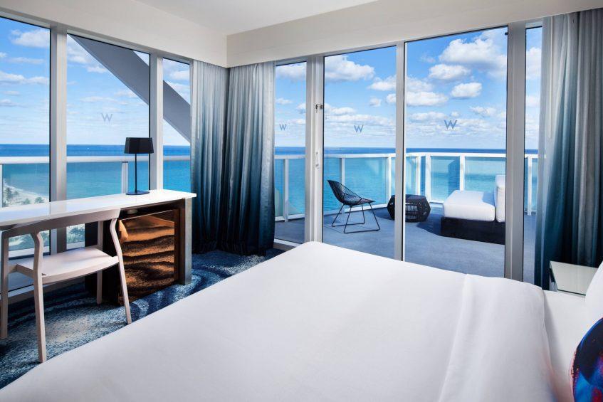 W Fort Lauderdale Luxury Hotel - Fort Lauderdale, FL, USA - Oasis Ocean Front Suite