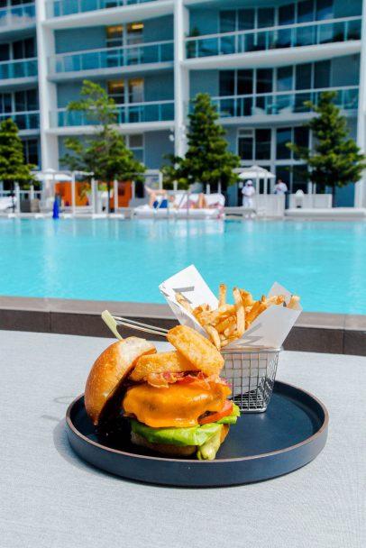 W Miami Luxury Hotel - Miami, FL, USA - WET Deck Food