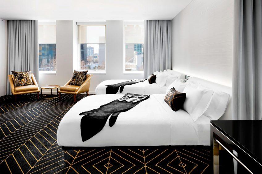 W Montreal Luxury Hotel - Montreal, Quebec, Canada - Mega Guest Room Queen