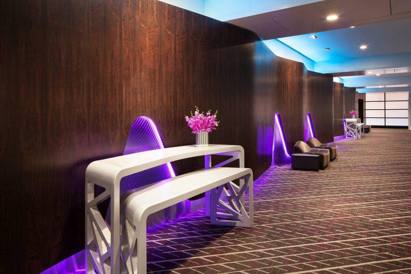W San Francisco Luxury Hotel - San Francisco, CA, USA - Work Room Pre Function