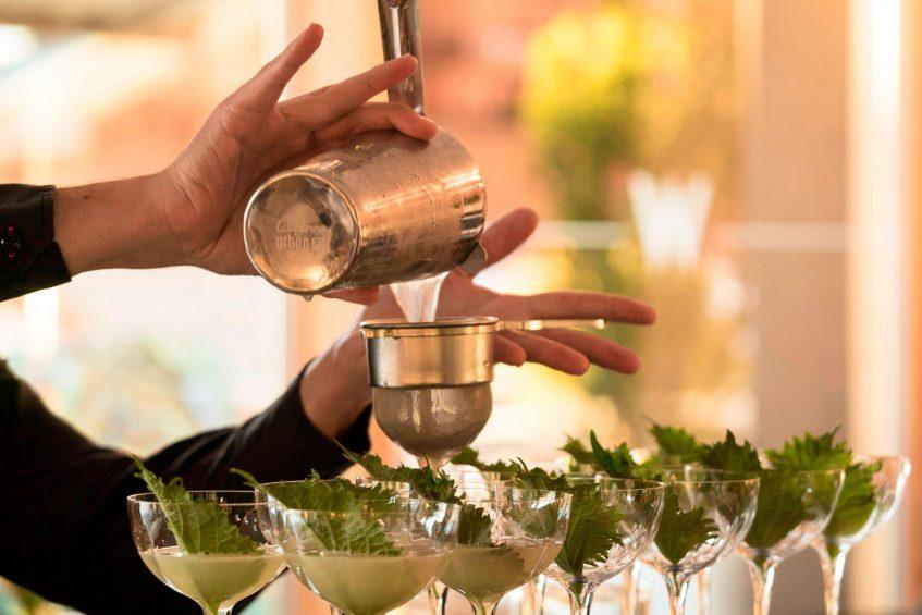 W Verbier Luxury Hotel - Verbier, Switzerland - W Kitchen Cocktails