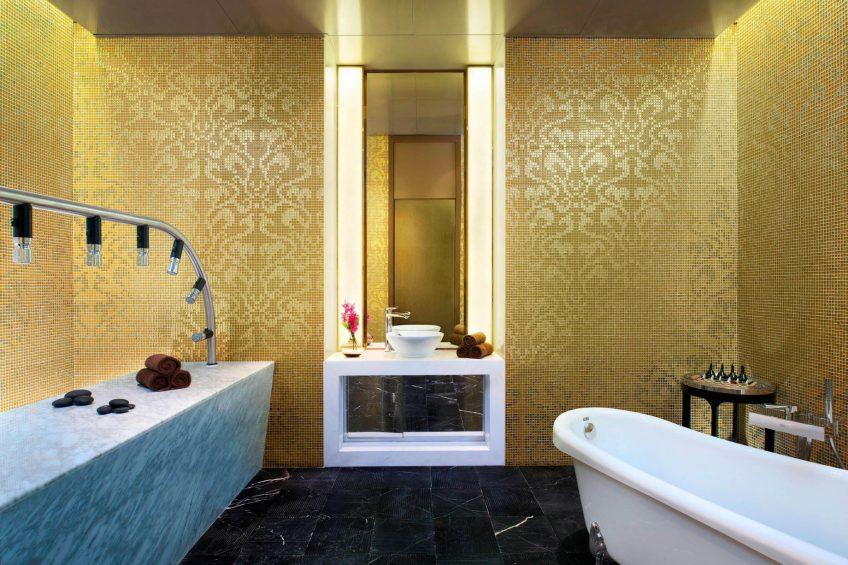 The St. Regis Beijing Luxury Hotel - Beijing, China - Iridium Spa Vichy Shower Room