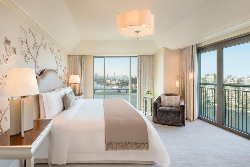 The St. Regis Cairo Luxury Hotel - Cairo, Egypt - Royal Suite King Bedroom
