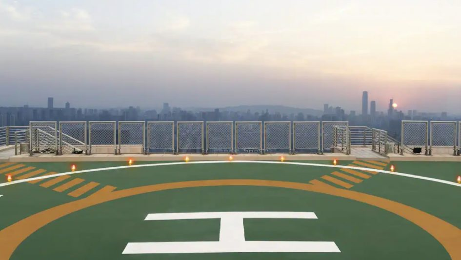 The St. Regis Changsha Luxury Hotel - Changsha, China - Helicopter Airport Shuttle