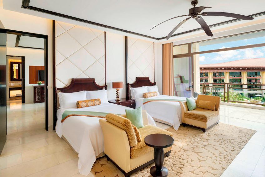 The St. Regis Sanya Yalong Bay Luxury Resort - Hainan, China - Connection Room Queen