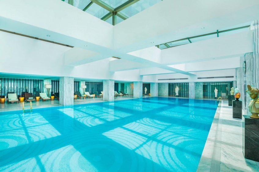 The St. Regis Shanghai Jingan Luxury Hotel - Shanghai, China - Indoor Pool
