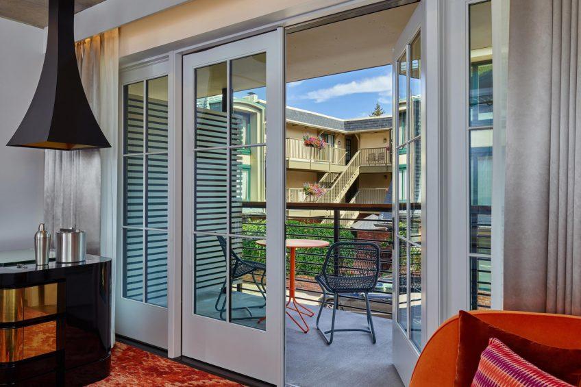 W Aspen Luxury Hotel - Aspen, CO, USA - Fabulous King Balcony View