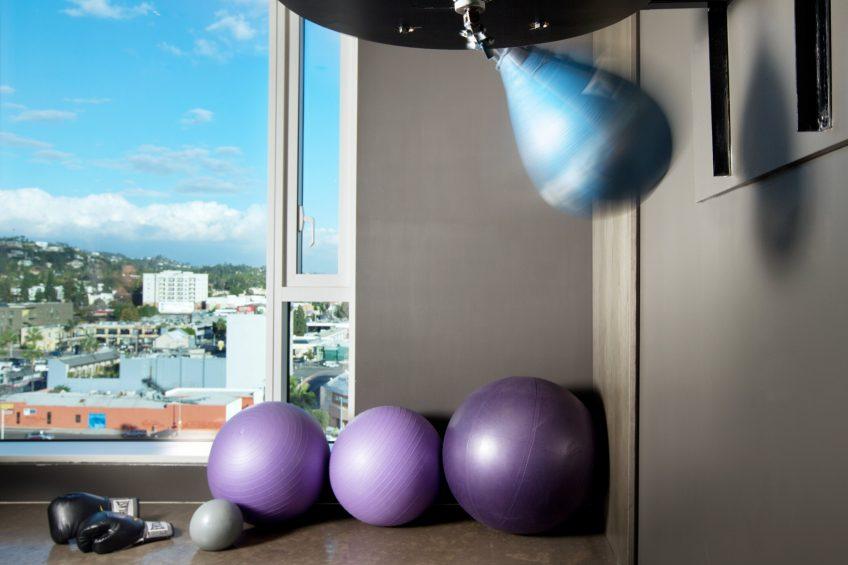 W Hollywood Luxury Hotel - Hollywood, CA, USA - Fitness Center