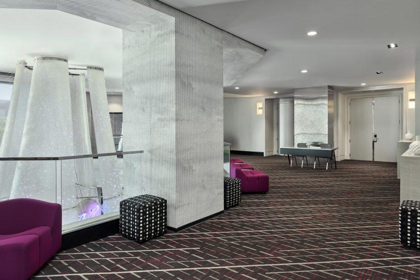 W San Francisco Luxury Hotel - San Francisco, CA, USA - Great Room Pre Function
