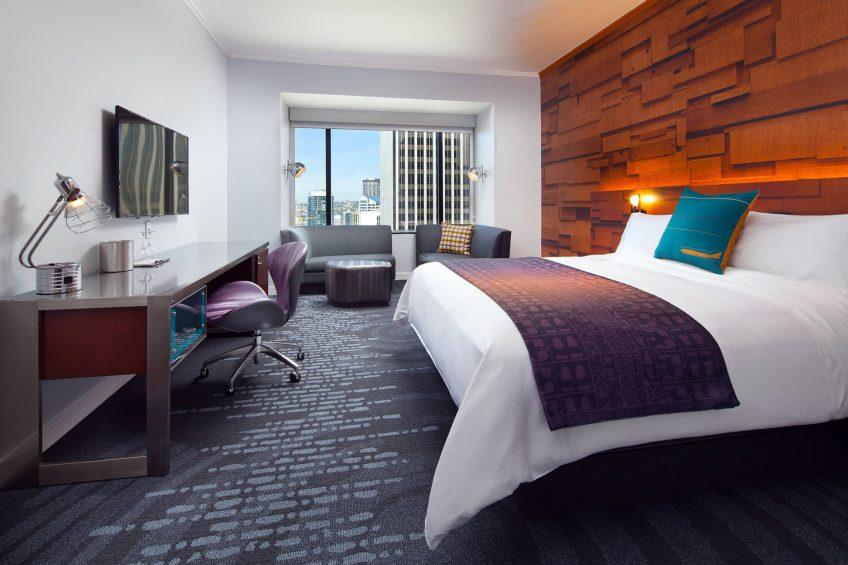 W Seattle Luxury Hotel - Seattle, WA, USA - Spectacular Guest Room