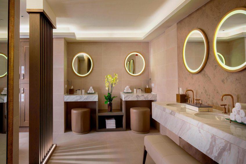 The St. Regis Astana Luxury Hotel - Astana, Kazakhstan - Iridium Spa Changing Room