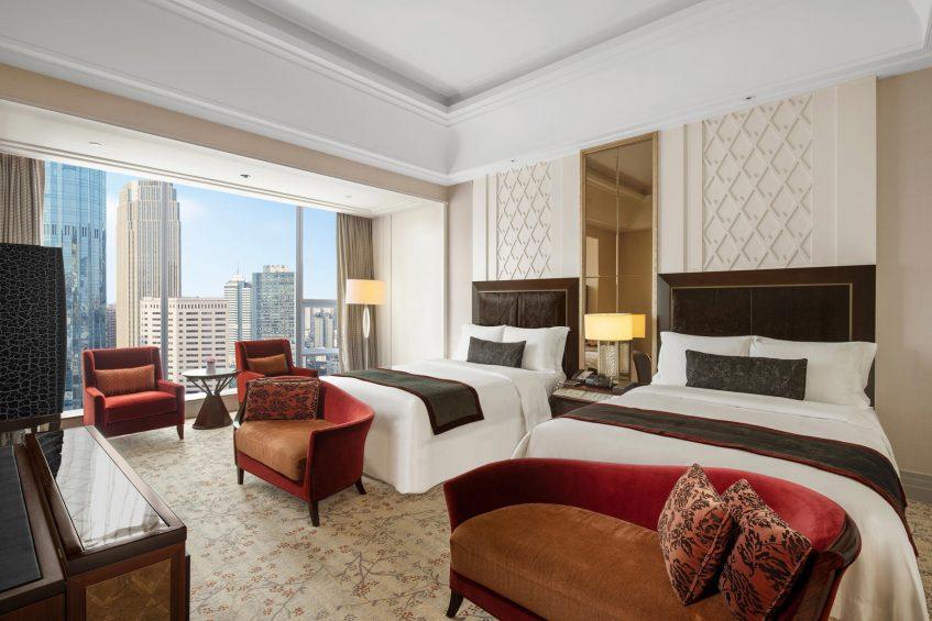 The St. Regis Chengdu Luxury Hotel - Chengdu, Sichuan, China - Deluxe Room Twin