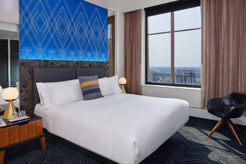 W Minneapolis The Foshay Luxury Hotel - Minneapolis, MN, USA - Marvelous Suite Bedroom