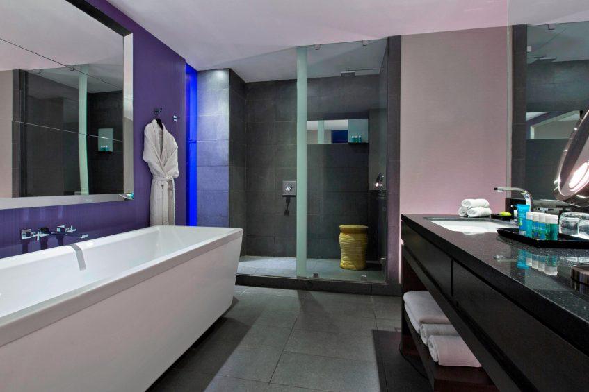 W Santiago Luxury Hotel - Santiago, Chile - Wonderful Room Bathroom