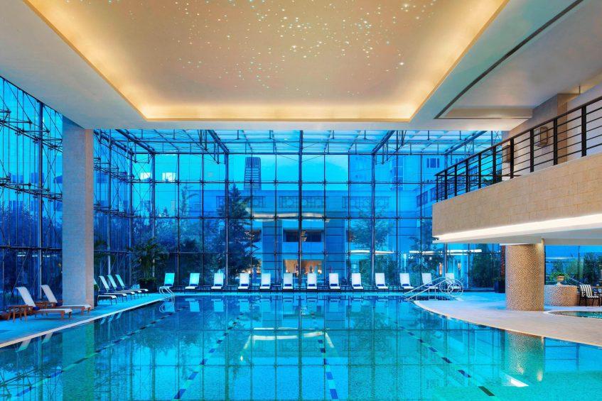 The St. Regis Beijing Luxury Hotel - Beijing, China - Indoor Pool