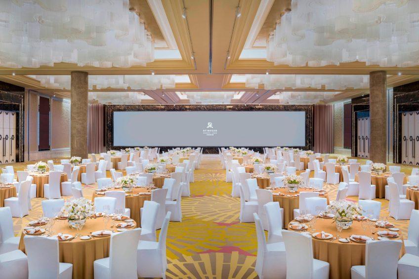 The St. Regis Shanghai Jingan Luxury Hotel - Shanghai, China - Astor Ballroom Gala Dinner