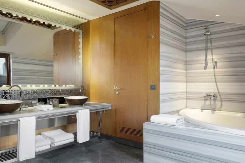 W Istanbul Luxury Hotel - Istanbul, Turkey - Guest Bathroom Tub