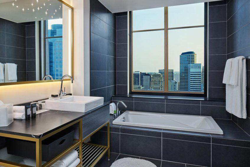 W Minneapolis The Foshay Luxury Hotel - Minneapolis, MN, USA - Marvelous Suite Bathroom