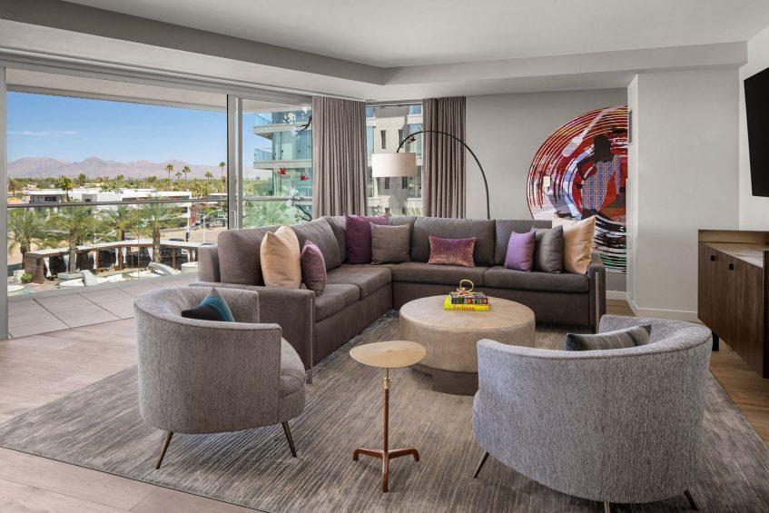 W Scottsdale Luxury Hotel - Scottsdale, AZ, USA - Marvelous Suite
