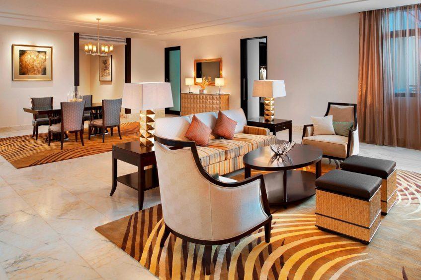 The St. Regis Sanya Yalong Bay Luxury Resort - Hainan, China - Ocean One Bedroom Suite Living Room