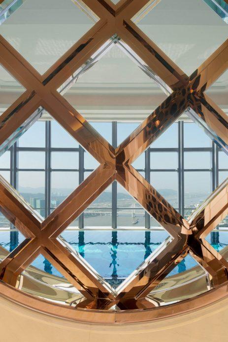 The St. Regis Zhuhai Luxury Hotel - Zhuhai, Guangdong, China - Athletic Club Swimming Pool Window