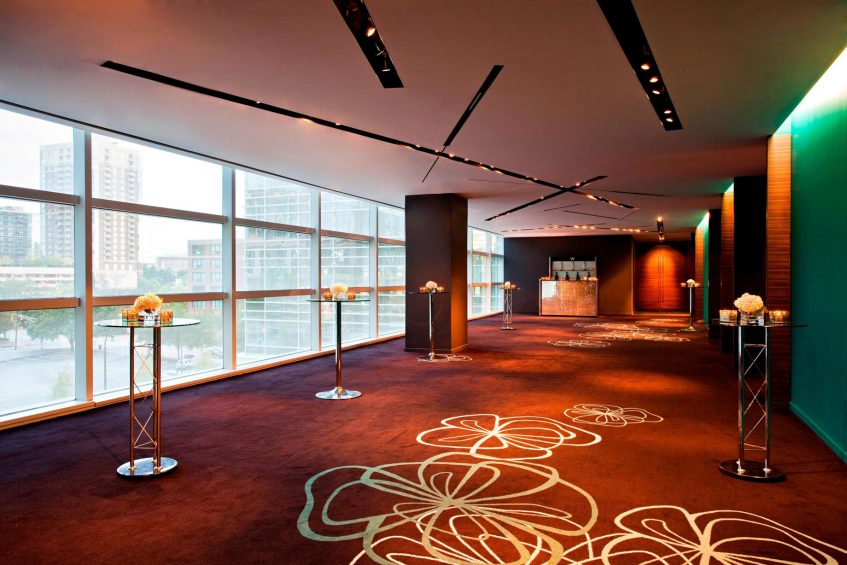 W Atlanta Downtown Luxury Hotel - Atlanta, Georgia, USA - Great Room Pre Function Area