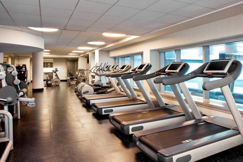 W Hoboken Luxury Hotel - Hoboken, NJ, USA - FIT Fitness