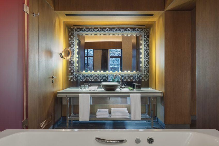 W Istanbul Luxury Hotel - Istanbul, Turkey - Guest Bathroom Decor