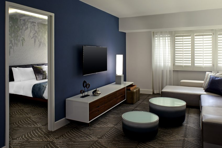 W Los Angeles West Beverly Hills Luxury Hotel - Los Angeles, CA, USA - Spectacular Suite