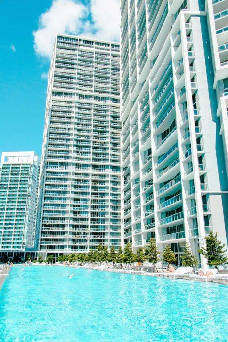 W Miami Luxury Hotel - Miami, FL, USA - WET Deck Poolside