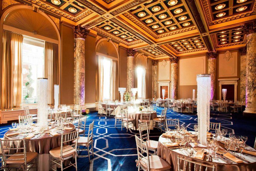 W New York Union Square Luxury Hotel - New York, NY, USA - Ballroom Round Tables
