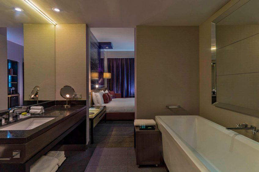 W Santiago Luxury Hotel - Santiago, Chile - Wonderful Twin Guest Bathroom