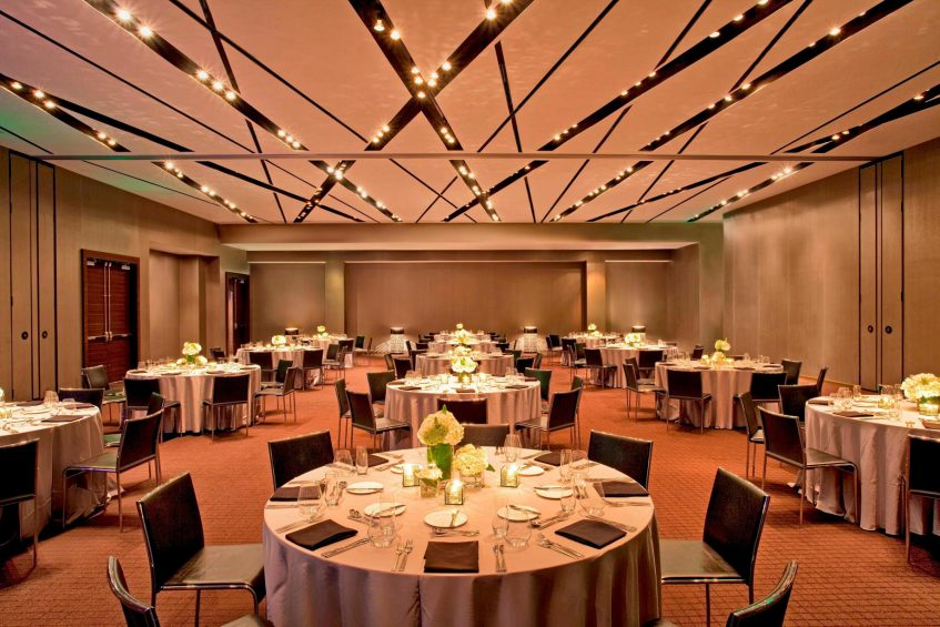 W Atlanta Downtown Luxury Hotel - Atlanta, Georgia, USA - Great Room Banquet