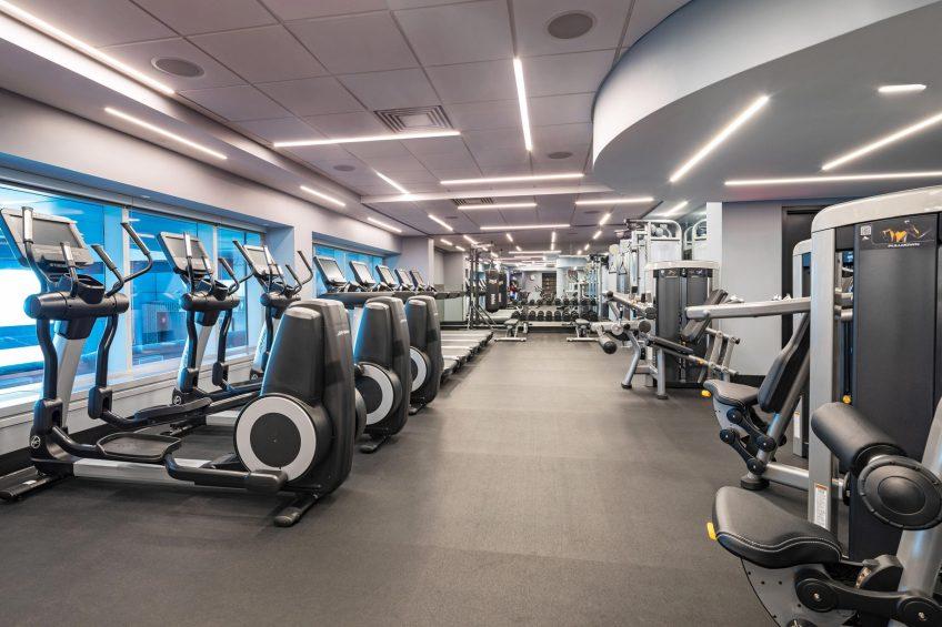 W Hoboken Luxury Hotel - Hoboken, NJ, USA - FIT Fitness Center