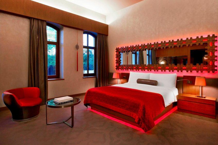 W Istanbul Luxury Hotel - Istanbul, Turkey - Mega Room Bed