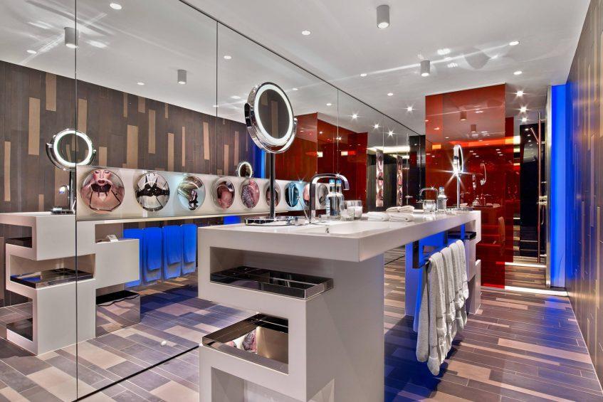 W London Luxury Hotel - London, United Kingdom - Suite Bathroom Modern Decor