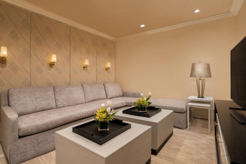 The St. Regis Cairo Luxury Hotel - Cairo, Egypt - Royal Suite Media Room