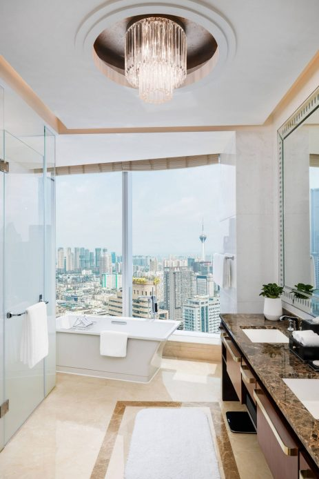 The St. Regis Chengdu Luxury Hotel - Chengdu, Sichuan, China - Lafayette Suite Bathroom