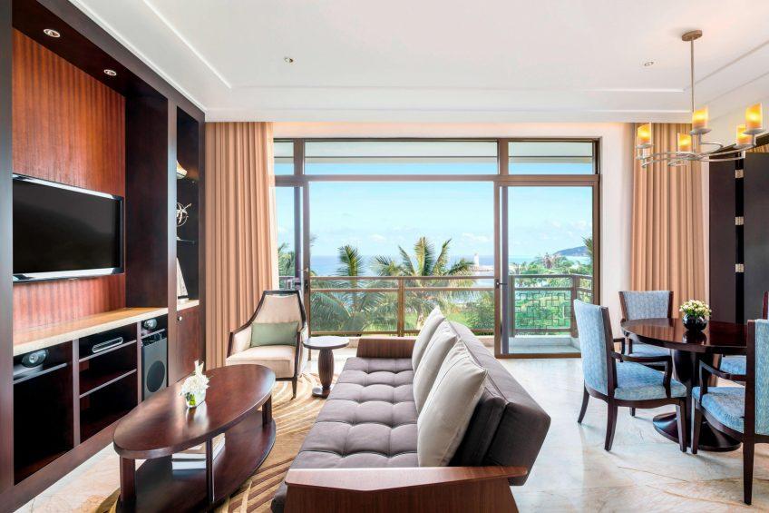 The St. Regis Sanya Yalong Bay Luxury Resort - Hainan, China - Ocean Suite Living Room