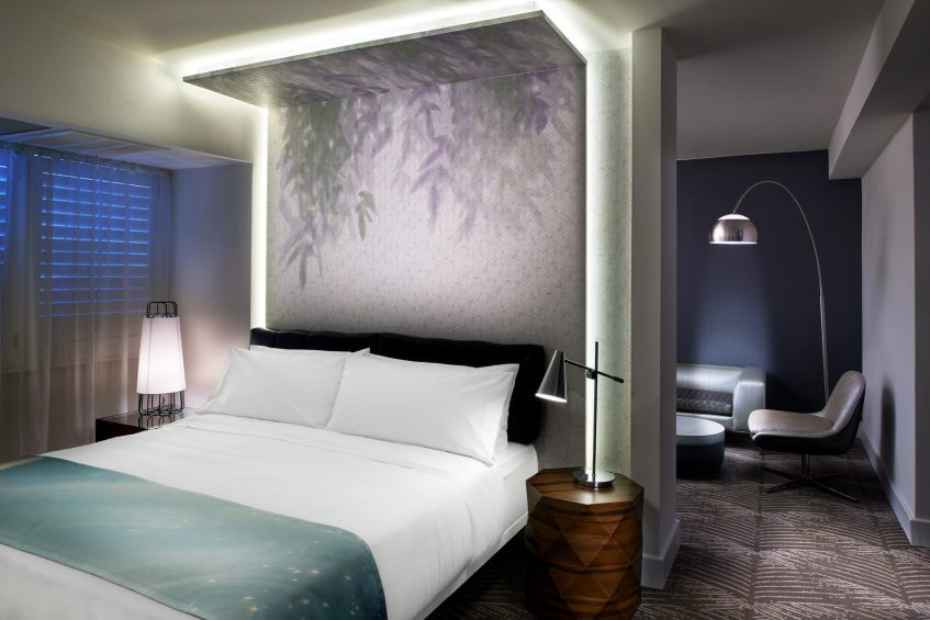 W Los Angeles West Beverly Hills Luxury Hotel - Los Angeles, CA, USA - Suite Bedroom