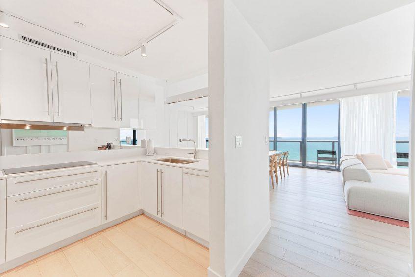 W South Beach Luxury Hotel - Miami Beach, FL, USA - E Wow Suite Kitchen