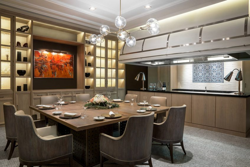 The St. Regis Macao Luxury Hotel - Cotai, Macau SAR, China - The Penthouse Kitchen at The Manor