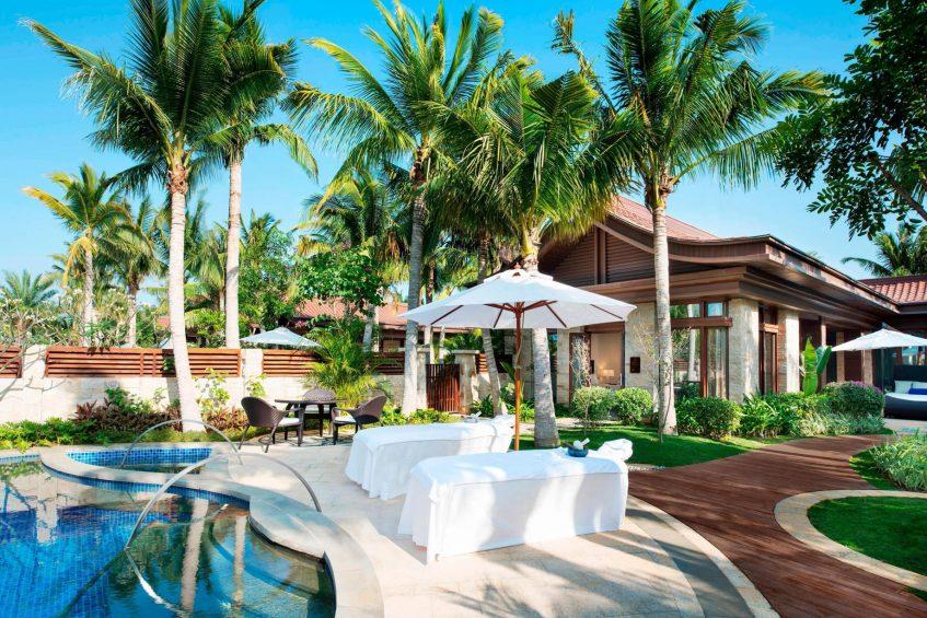 The St. Regis Sanya Yalong Bay Luxury Resort - Hainan, China - Poolside One Bedroom Villa Terrace