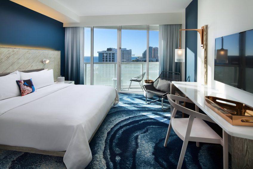 W Fort Lauderdale Luxury Hotel - Fort Lauderdale, FL, USA - Wonderful King Guest Room