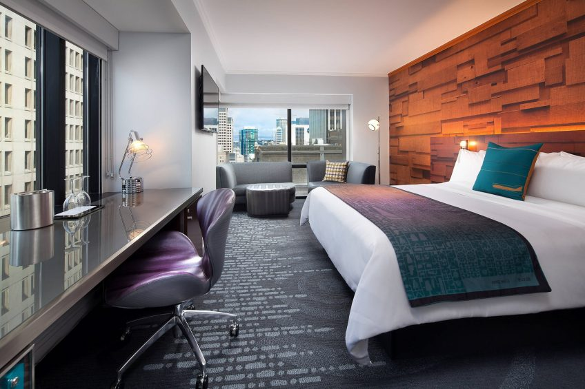 W Seattle Luxury Hotel - Seattle, WA, USA - Studio Suite Decor