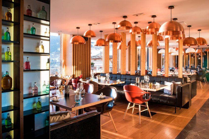 W Verbier Luxury Hotel - Verbier, Switzerland - W Kitchen Booth