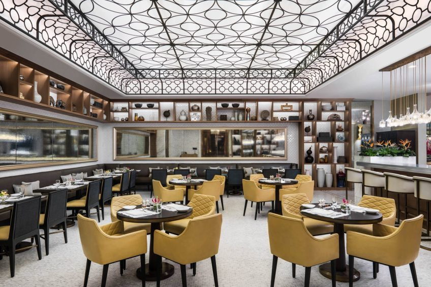 The St. Regis Macao Luxury Hotel - Cotai, Macau SAR, China - The Verandah at The Manor