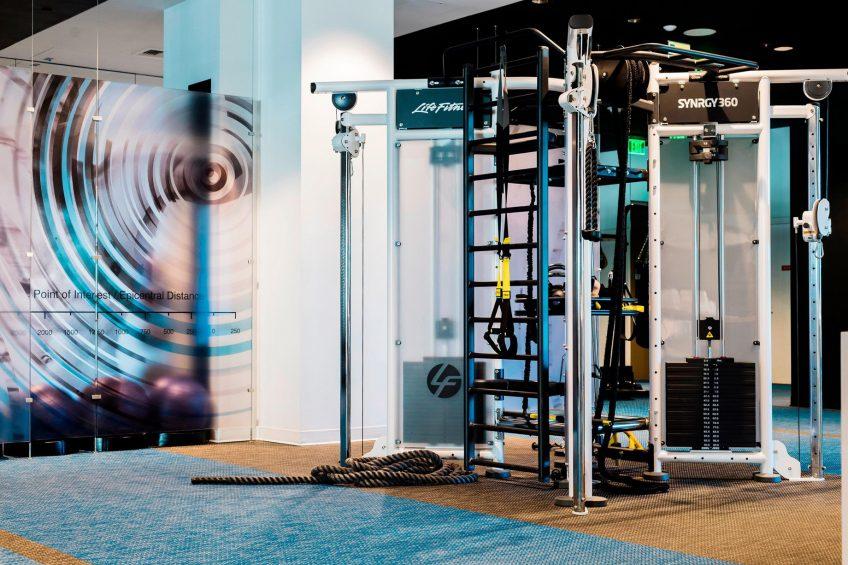 W Bellevue Luxury Hotel - Bellevue, WA, USA - FIT Gym Equipment