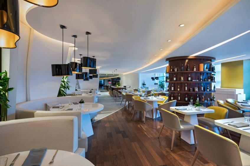 W Bogota Luxury Hotel - Bogota, Colombia - W Bogota Restaurant Tables