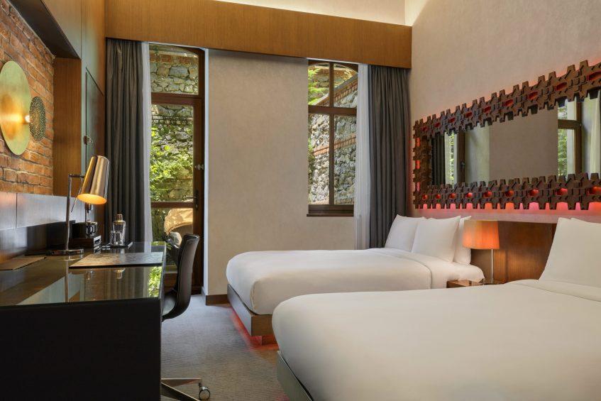 W Istanbul Luxury Hotel - Istanbul, Turkey - Spectacular Guest Room Twin